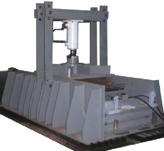 Maszyna dobadania nawierzchni drogowej