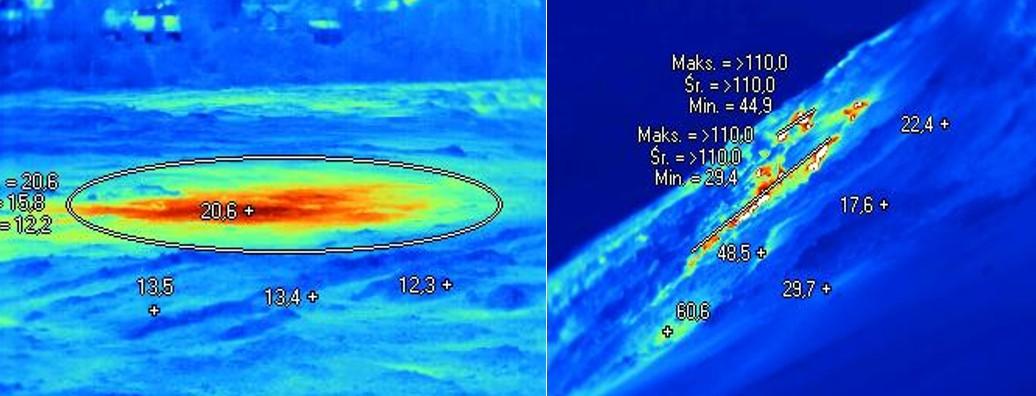 Pomiary termowizyjne wterenie
