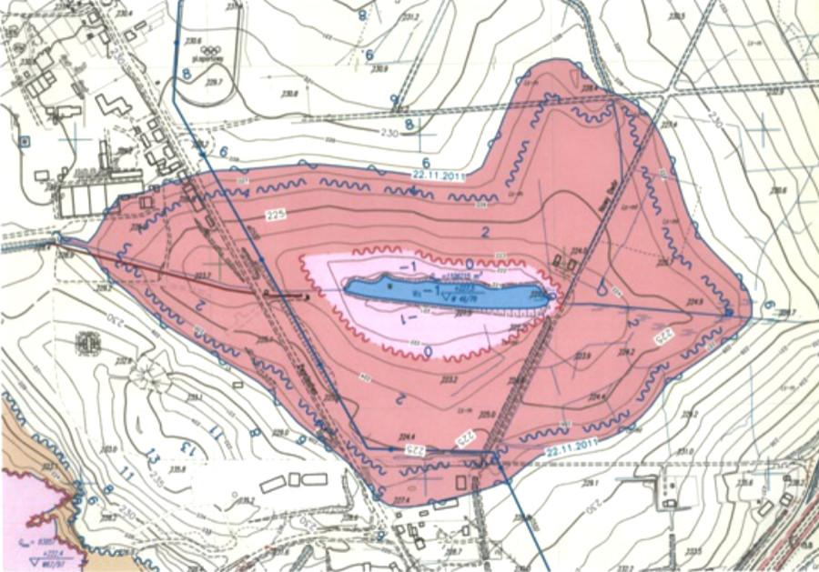 Tereny pogórnicze zagrożone zawodnieniem zalaniem